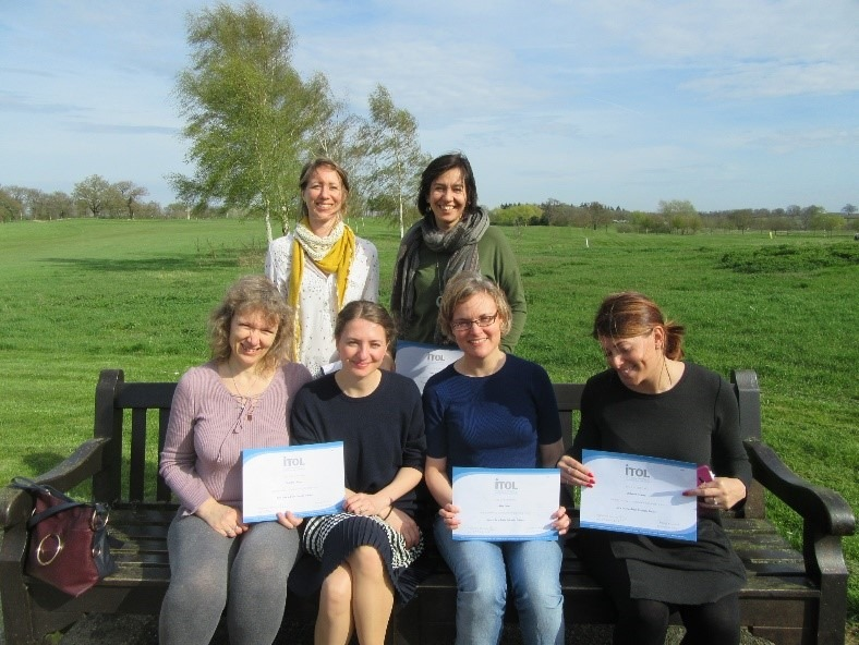 ITOL Professional Qualified Trainers holding Qualification Certificates