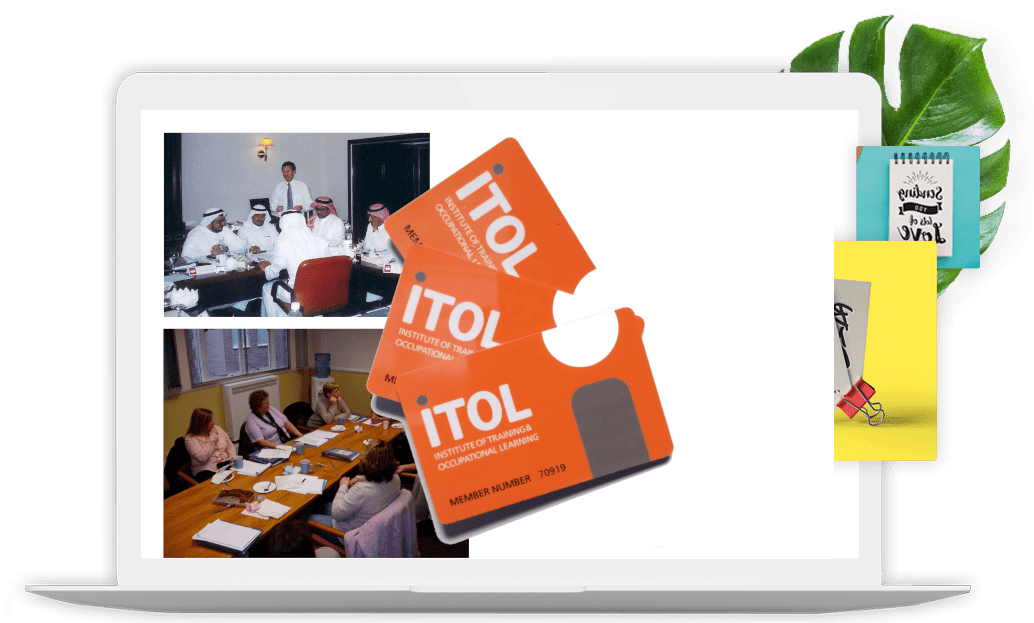 ITOL training and cpd membership cards