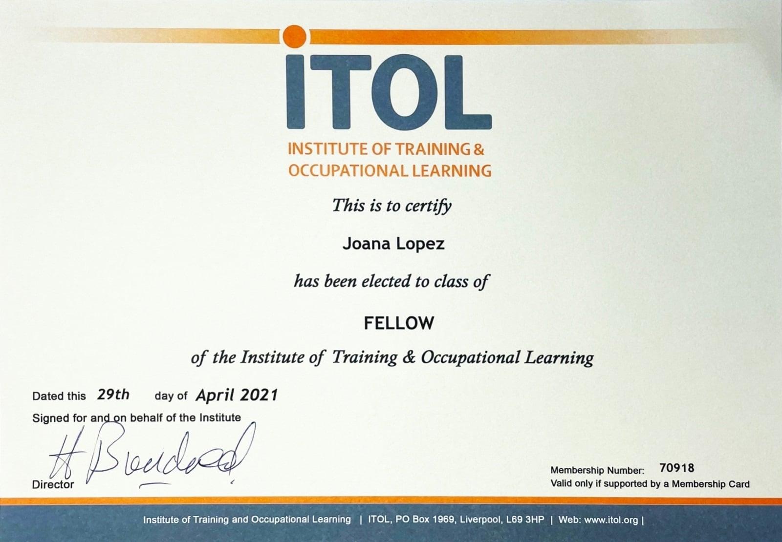 Membership-Certificate